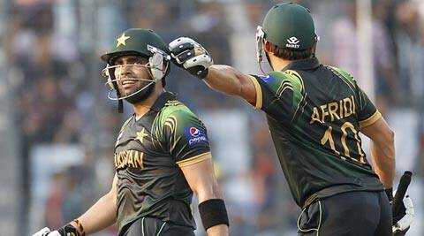 Umar Akmal fired a 54-ball 94 to power his team to a brilliant total (Reuters)