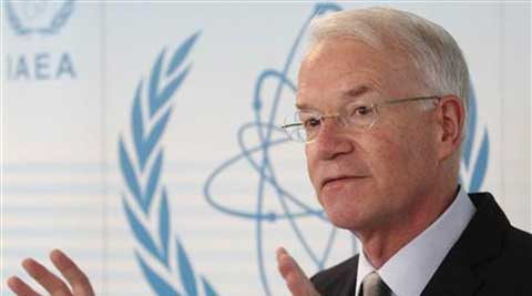 U.S. International Atomic Energy Agency (IAEA) ambassador Joseph Macmanus. (Reuters)