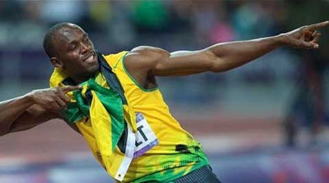 World-record holding sprinter, Usain Bolt, has reached top speeds of 12.27 metres per second. (PTI Photo)