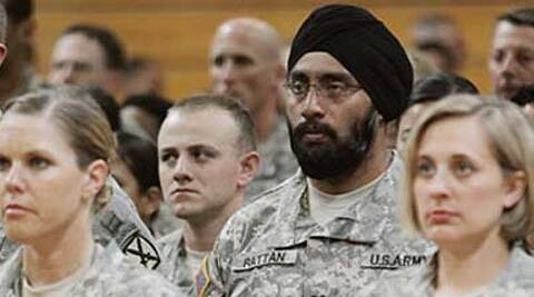 Sikhs are also able to wear protective equipment, including helmets and gas masks, in conformity with safety requirements, said US lawmakers.
