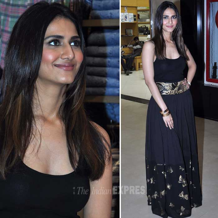 Shuddh Desi Romance actress Vaani Kapoor attended an event organised on the occasion of Women's Day. (Photo: Varinder Chawla)