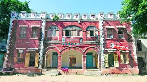 An old building where Narendra Modi stayed for three years as RSS pracharak. (Photo: Bhupendra Rana )