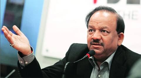 UHA Scheme is in the process of being finalised and will be presented to the nation within the current financial year, Vardhan said (Source: Express photo)