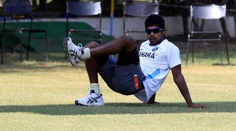 Varun Aaron made his outing in the warm-up game against Sri Lanka count with figures of 3-0-18-1 (File)