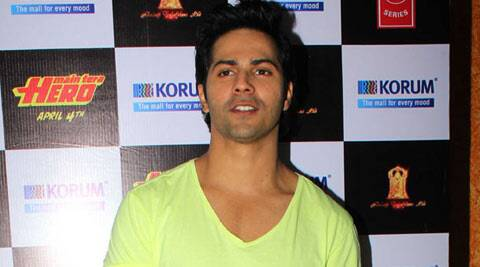 Varun Dhawan said he did not view anybody as his competitor in Bollywood.