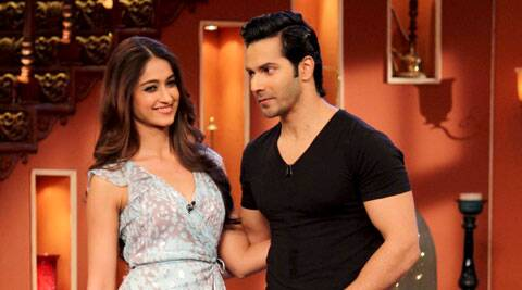 Varun Dhawan and Ileana D'Cruz pose together.