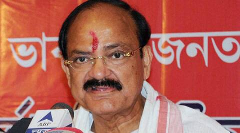 BJP leader Venkaiah Naidu. (Source: PTI)