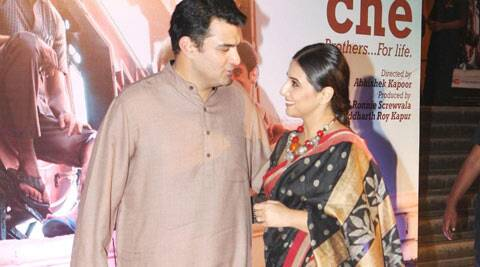 Vidya Balan on how husband Siddharth Roy Kapur has brought security in life