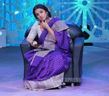 Vidya Balan goes desi for Women's Day