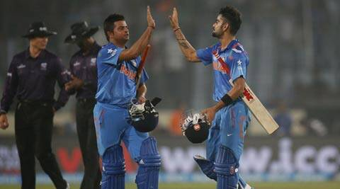 Chasing a modest total, Virat Kohli and Suresh Raina ensured that India reach home without much fuss (AP)
