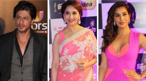Shah Rukh, Madhuri, Sophie wish Happy Women's Day.