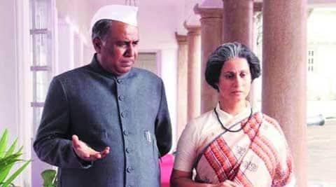 Ashok Lokhande and Supriya Vinod in Yashwantrao Chavan : Bakhar Eka Vadalachi