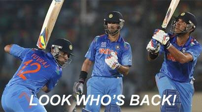 ICC World Twenty20: Yuvraj Singh roars back to form