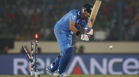 Yuvraj Singh has struggled in his two outings in the ICC World Twenty20 so far (PTI)
