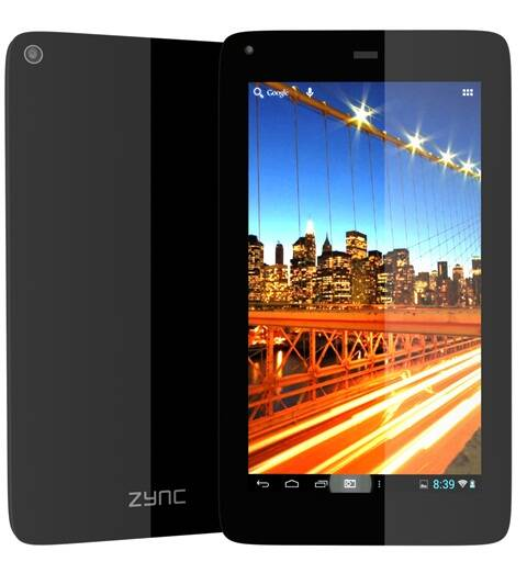 Zync Z605 phablet is great for web browsing