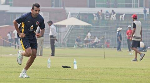 Zaheer Khan's fielding is a liability for the team, says Prasad (IE Photo)