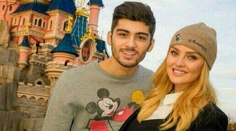 Perrie Edwards: I've asked Zayn to help me work out because I'm really lazy. (Photo: Instagram)