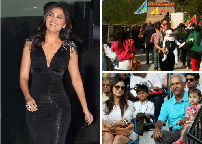 After the birth of her daughter, Lara Dutta returned to the big screen with Bejoy Nambiar's David'. The film opened to mixed responses and was an average performer at the Box Office. The actress is said to have recently singed up for 'No Entry' sequel, titled 'No Entry Mein Entry'. She is also reportedly planning a sequel to 'Chalo Dilli', titled 'Chalo China'.