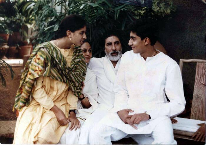 "Jaya Bachchan gave up her acting career when she was at the peak only for her children Shweta and Abhishek. She once famously said: ""I come from a home where my mother was always around. Just her presence gave me a lot of strength. I became the person that I am because of her."" (Express archive photo)"