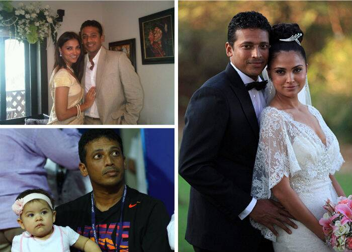 Lara later met tennis ace Mahesh Bhupathi when she signed up as a client with his celebrity and sports management company that Mahesh ran with his ex-wife Shvetha Jaishankar. The duo eventually got married on February 16, 2011. They have a two-year-old daughter Saira, who was born on January 20, 2012.