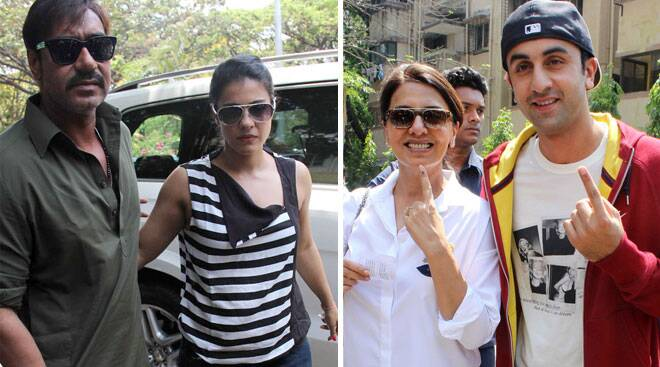 Star voters we missed to show you: Ranbir Kapoor, Kajol, Ajay Devgn