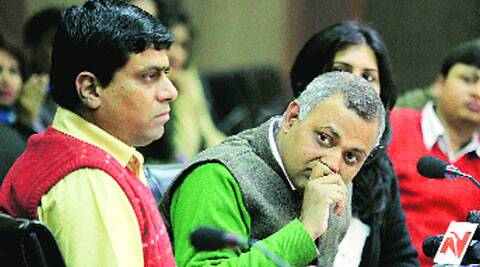 Police said the incident took place when Bharti was invited for a television programme.
