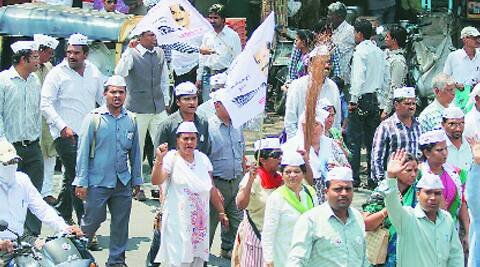 Close to 2,000 AAP volunteers will be campaigning on the streets of Varanasi, said local leaders