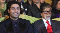 Amitabh Bachchan is rocking at 71, says son Abhishek Bachchan