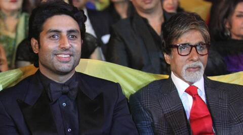 "Big B's son Abhishek Bachchan tweeted, ""71 and still socking it outta the park!!"
