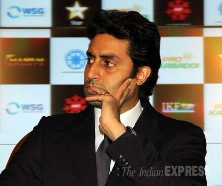 Abhishek Bachchan suits up