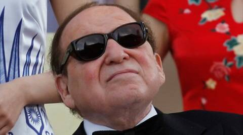 Adelson personifies everything that is poisoning US democracy and Israel's today — swaggering oligarchs, using huge sums of money to try to bend each system to their will. Reuters