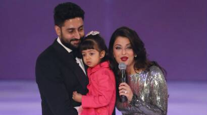 Aishwarya Rai, Abhishek Bachchan celebrate 8th wedding anniversary
