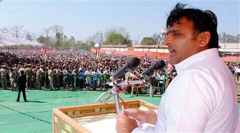 Akhilesh Yadav vowed to stop Narendra Modi and form a Third Front government at the Centre.  (PTI)
