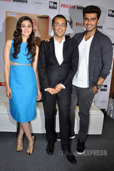 Rumoured lovers Alia Bhatt, Arjun Kapoor and the '2 States'