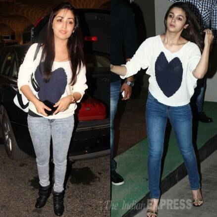 Same-to-same: Yami Gautam copies Alia Bhatt