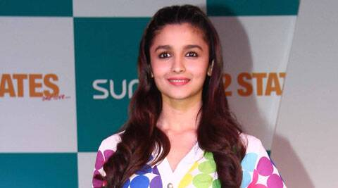Alia Bhatt is currently promoting her film in London along with Arjun Kapoor and Chetan Bhagat.