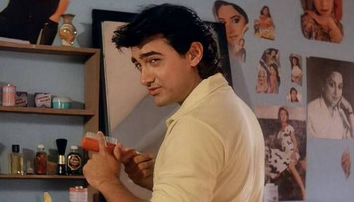<b>Amar, Aamir Khan</b>:  The role of Amar was played by Aamir Khan. The actor hasn't done much comedy in his career, but his portrayal of the cunning Amar seeking the hand of the rich heiress was a refreshing change. In the film, Amar pretends to have lost his memory after being knocked down by the rich girl's car.