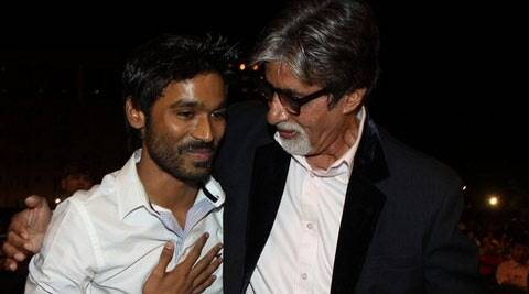 """It was like watching two artistes who have worked closely for years. Who would believe Dhanush was working with Amitji for the first time? All their scenes together were amazing because they were done after great thought,"" says Balki. Apparently both Big B and Dhanush reached the sets early so as to be able to practice their lines."