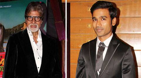 Dhanush will be seen with Amitabh Bachchan in R Balki's next.