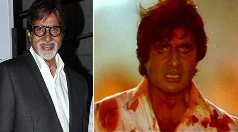 Big B's 'angry young man' image pitch-forked him to stardom in the '70s.