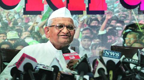 Hazare also reiterated that it was Arvind Kejriwal's hunger to become PM.