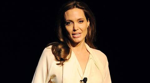 Angelina Jolie said she always saw herself as an actress and never imagined herself as a mother. (AP)
