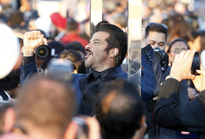 Anil Kapoor is clearly having a 'Jai Ho' moment with his fans. (AP)