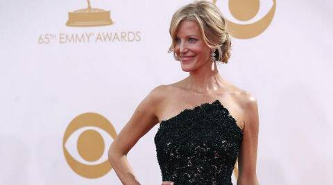 Anna Gunn was last seen in 'The Rehearsal'. (Reuters)