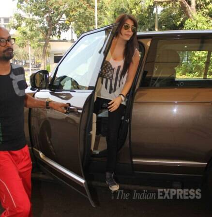 Anushka Sharma back from Sri Lanka, off to Jodhpur directly