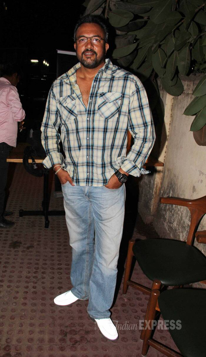 Director Apoorva Lakhia was also seen at the launch. (Photo: Varinder Chawla)