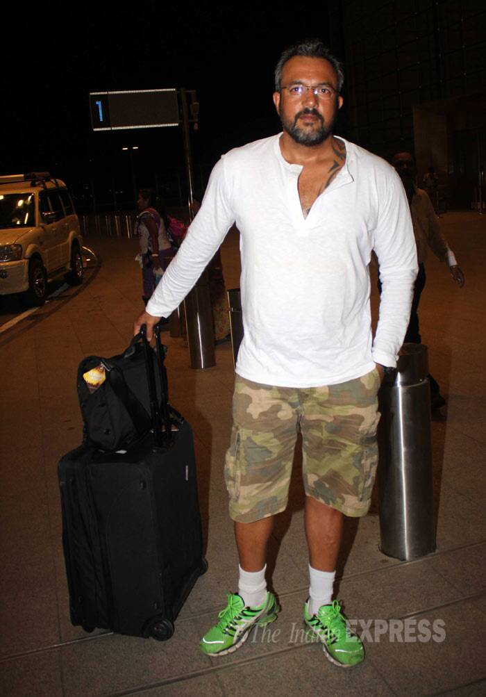 'Zanjeer' director Apoorva Lakhia opted for a more casual look. (Photo: Varinder Singh)
