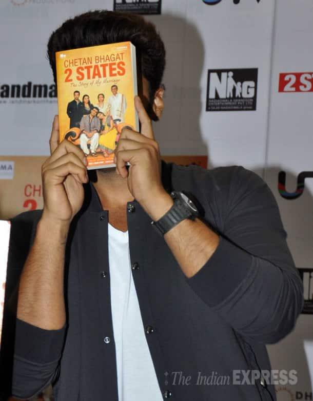 Rumoured lovers Alia Bhatt, Arjun Kapoor and the '2 States'