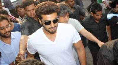 Arjun Kapoor watches '2 States' with fans