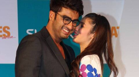 "Arjun also said, ""I told jokingly the toughest thing was to kiss Alia."""